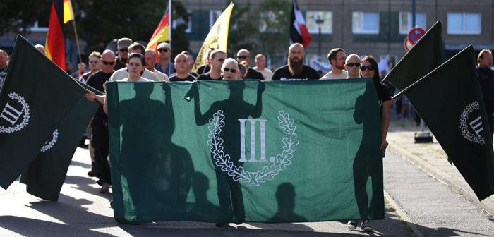 Der III. Weg - Naziaufmarsch in Frankfurt/Oder, September 2016