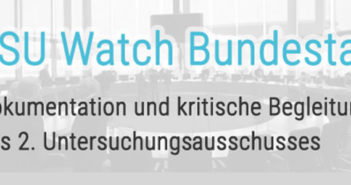 NSU Watch Bundestag