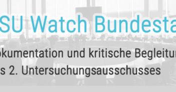 NSU Watch Bundestag