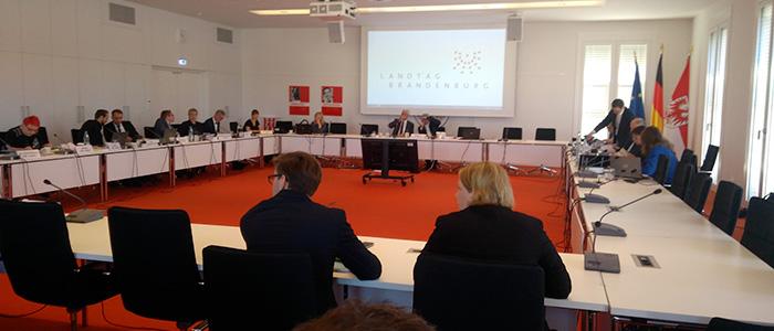 Raum NSU-Untersuchungsausschuss Brandenburg