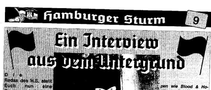 Hamburger Sturm 9 - Ein Interview aus dem Untergrund